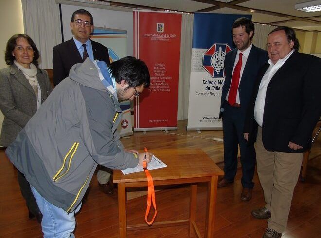 Fundación de Asistencia Legal del Colegio Médico de Chile y la Escuela de Medicina de la Universidad Austral firmaron convenio de asesoría