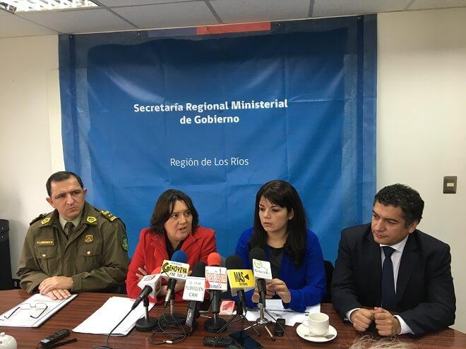 Gobierno en Los Ríos realizó balance de fiscalizaciones y controles vehiculares durante Fiestas Patrias