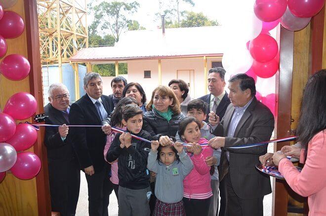 Más de 222 millones invirtió Mineduc Los Ríos para mejorar infraestructura Educativa en Corral