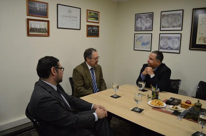 Fiscal Regional reunido con Intendente