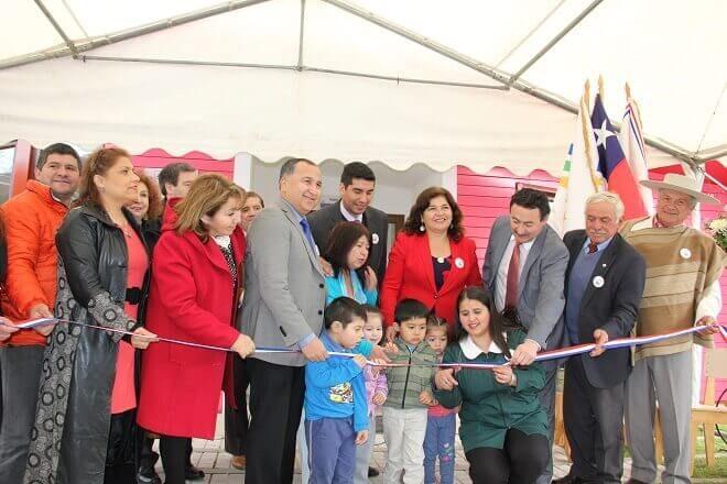 JUNJI Los Ríos inaugura moderna sala cuna y jardín infantil en Máfil