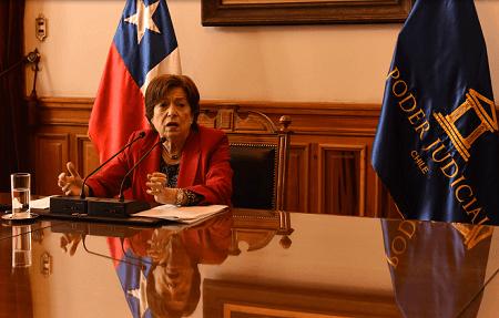 """Ministra Maggi: """"El Poder Judicial ha estado siempre preocupado de colaborar en todo lo que sea posible"""""""
