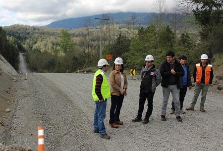 MOP reinicia asfaltado del último tramo en la  Ruta Llifén-Arquilhue en Futrono