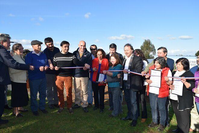 Pequeños agricultores de Pancul dan el vamos a la segunda etapa del sistema de riego fotovoltaico