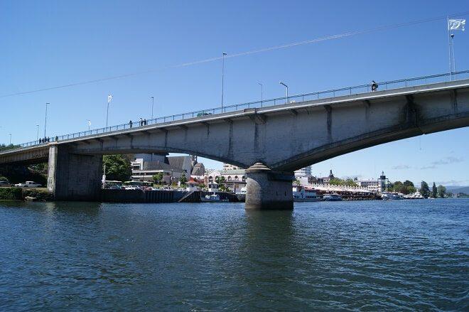 Plan Ciudad Puentes adjudicó diseño de ingeniería para mejorar capacidad estructural del puente Pedro de Valdivia