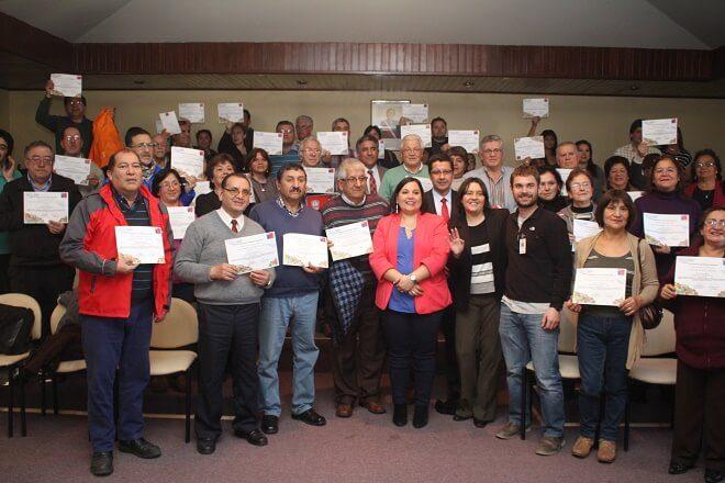 Reconocieron compromiso ambiental de dirigentes sociales de Valdivia