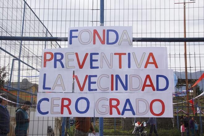 SENDA Previene Futrono realizó fonda preventiva «La Vecindad 0 Grados»