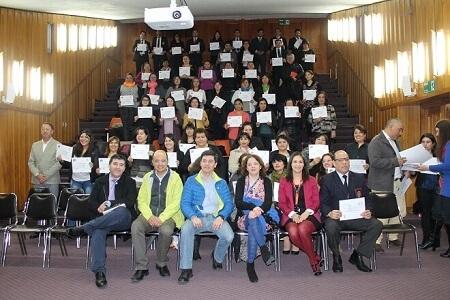 SENDA Previene Valdivia certificó a agentes preventivos y en habilidades preventivas parentales