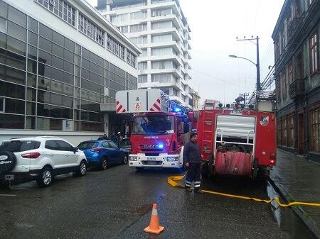 Simulacro en Valdiviabuscó evaluar plan de emergencia ante un incendio