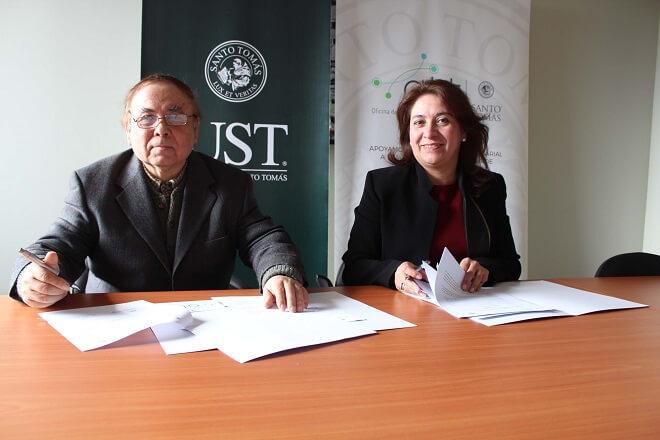 UST firma convenio con la Cámara de Comercio y Turismo Asociación Gremial