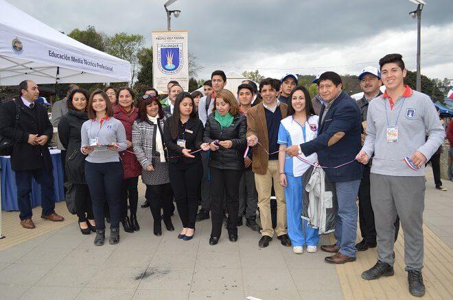 Todo un éxito fue en Panguipulli la VI feria de Educación Media Técnico Profesional de Los Ríos