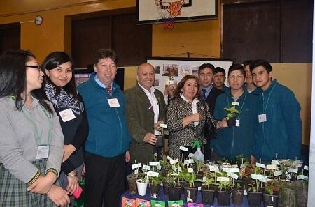 En Valdivia se dio inicio a la VI versión de la Feria de Educación Media Técnico Profesional de Los Ríos