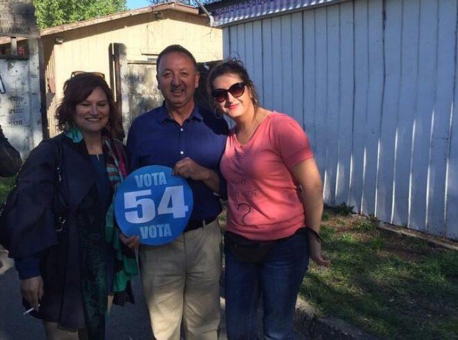 Guido Yobanolo, candidato a concejal por Valdivia, realizó cierre de campaña en Collico