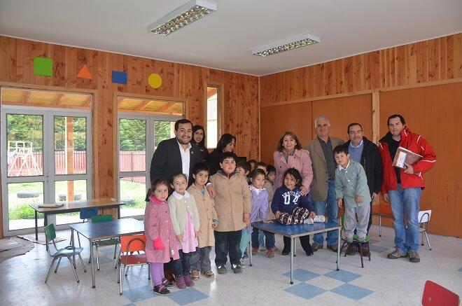 Más de 100 millones de pesos ha entregado el Mineduc para mejorar la escuela rural Riñinahue en Lago Ranco