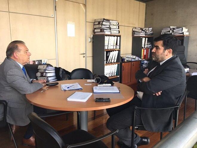 Diputado Berger (RN) y fiscal Morales hoy en Santiago:Sospechas de corrupción toman cuerpo en investigación por puente Cau-Cau