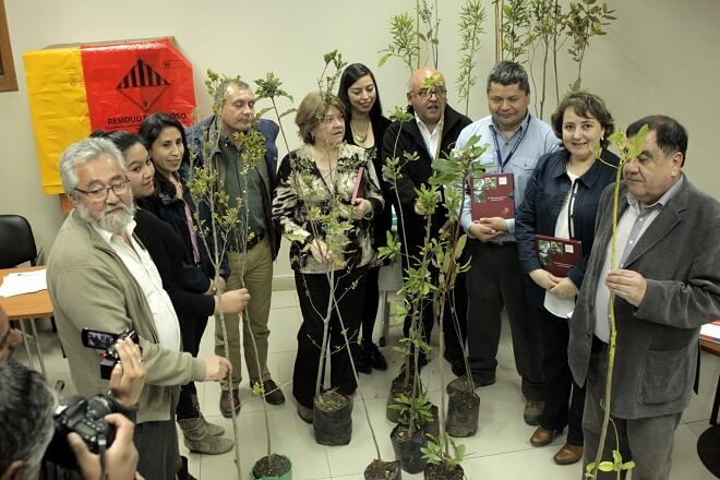 Red Asistencial de Chiloé firma política ambiental Comprometidos con el Medio Ambiente