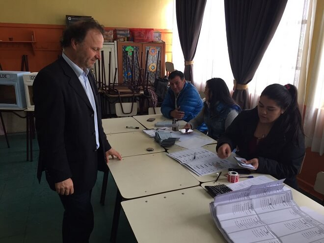 Senador De Urresti lamenta la baja participación ciudadana en las municipales