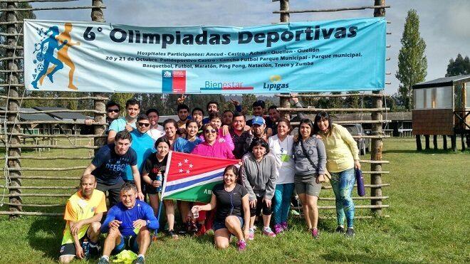 Hospital San Carlos de Ancud se llevó la copa de las VI Olimpiadas Deportivas de Salud