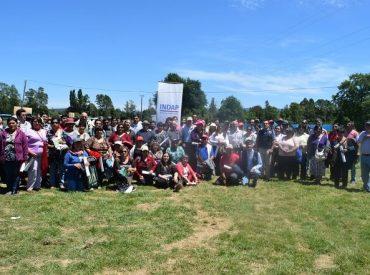 Más de 150 agricultores de las regiones de La Araucanía y Los Ríos visitaron Predio Foco Ovino