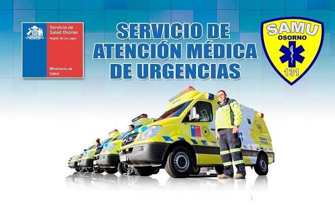 Llaman a usar responsablemente número de emergencias SAMU en Osorno
