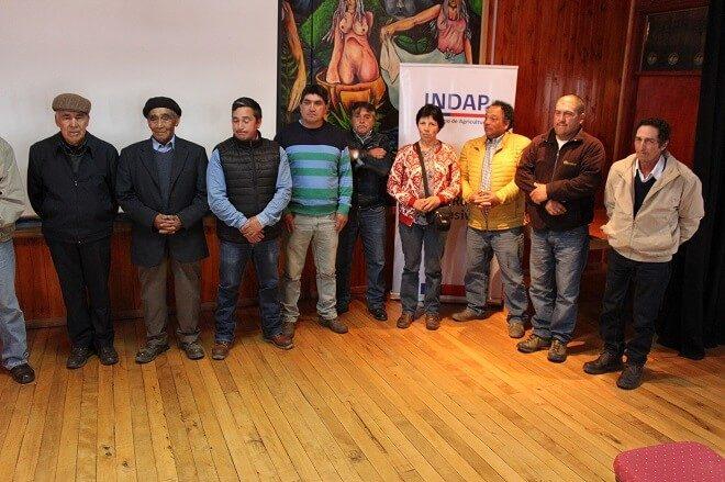 Agricultores de Quemchi fueron beneficiados con proyectos para mitigar escasez hídrica