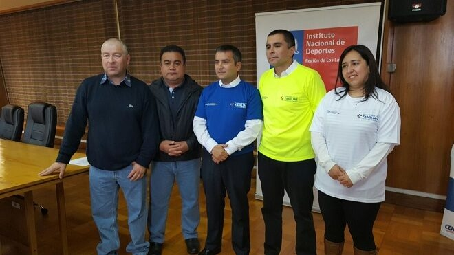 Autoridades anuncian priorización del proyecto de construcción de una cancha y pista atlética en Cancha Rayada en Castro