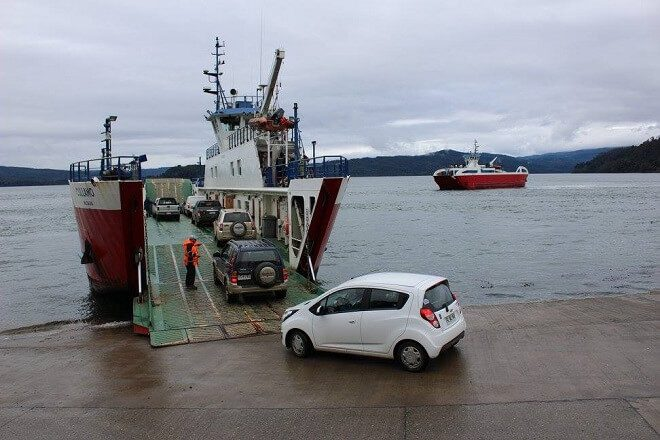 Este lunes regresa la nave Andalué que iniciará viajes simultáneos con barcaza Cullamó