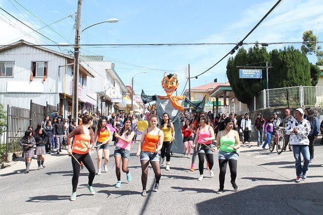 Calbuco invita a su quinto Carnaval de Primavera
