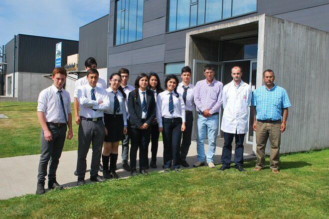 110 estudiantes de liceos agrícolas participaron en motivadora gira láctea en Osorno
