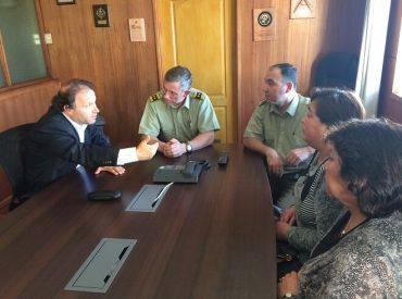 Dirigentas reiteran a nuevo general de Carabineros reposición de cuartel de Crucero