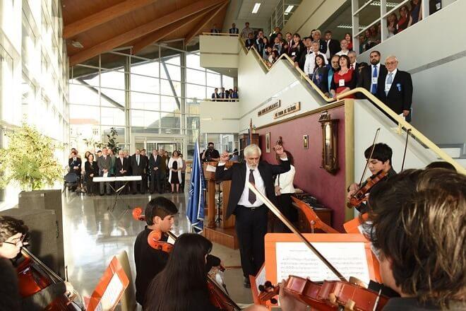 Coros de 12 jurisdicciones del Poder Judicial inauguran en Valdivia Cuarto Encuentro Nacional