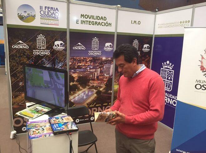 Municipalidad de Osorno se suma con stand en segunda Feria Regional Ciudad Sustentable