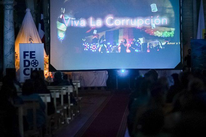 En la patrimonial Iglesia de Nercón, culminó Festival de Documentales de Chiloé