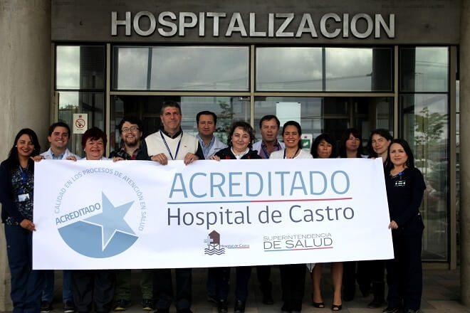 Hospital Augusto Riffart de Castro fue acreditado por la Superintendencia de Salud en calidad y seguridad al paciente