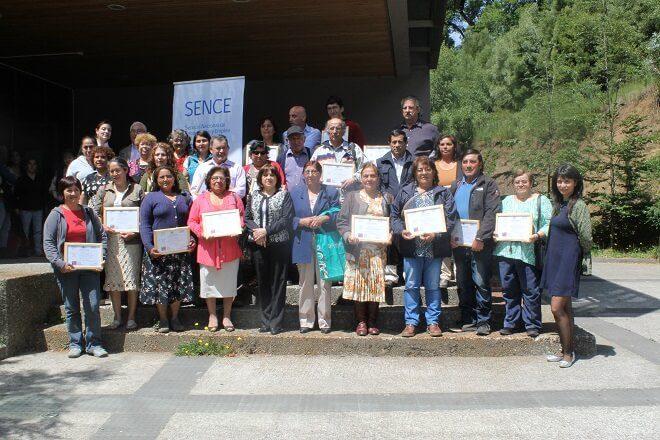 INDAP y SENCE capacitan a pequeños productores de la Región de Los Ríos