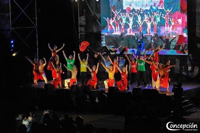 Inauguran Juegos Binacionales de la Araucanía 2016 en Concepción