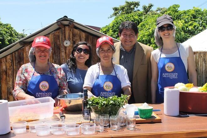 En Lago Ranco celebran 5° Feria de Alimentación Saludable