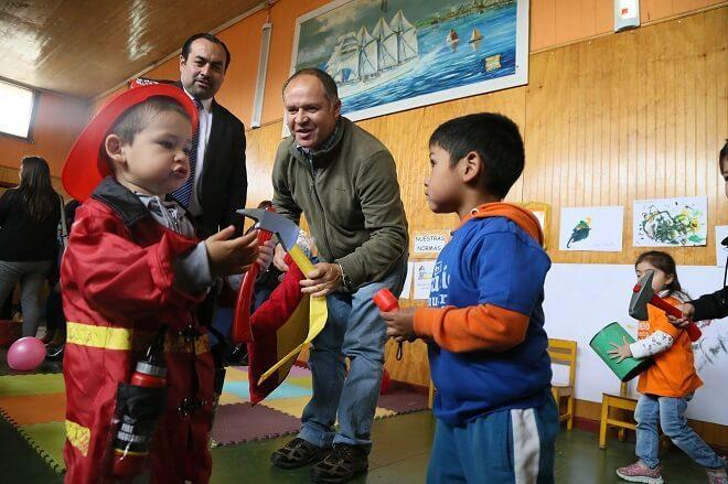 Biobío comenzó las celebraciones por semana de la Educación Parvularia