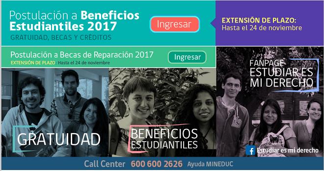 MINEDUC extiende plazo de inscripción a gratuidad para la educación superior hasta el 24 de noviembre