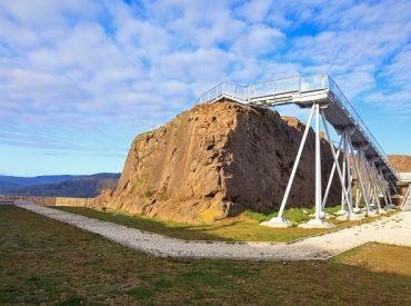 Museo de Sitio Castillo de Niebla denuncia vandalismo enmiradorde La Cantera