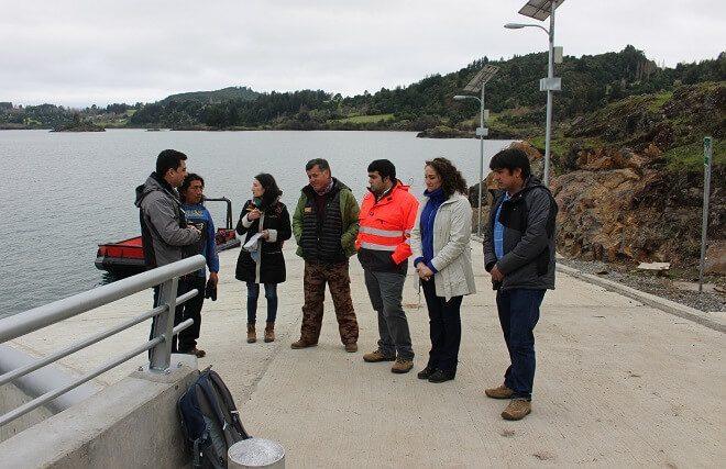 Operativo se encuentra nuevo Puerto Sur de Isla Huapi que mejora conectividad lacustre