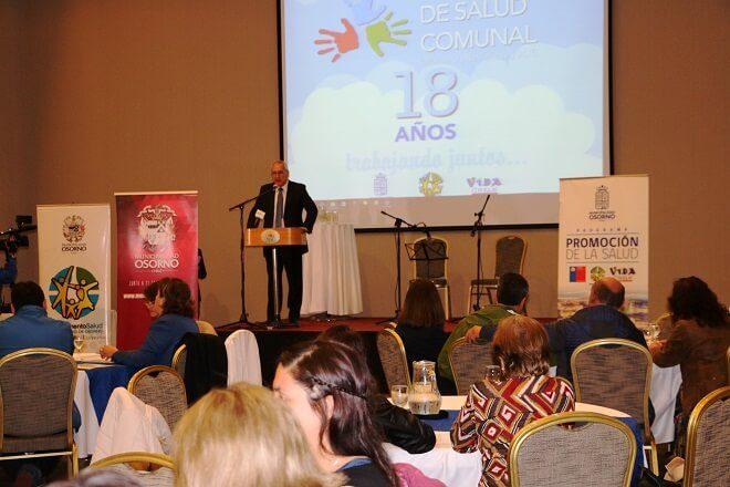Osorninos reflexionaron acerca de salud la primaria en Osorno