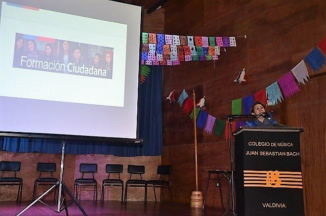 Establecimientos de Los Ríos compartieron sus planes de Formación Ciudadana y socializaron actividades efectuadas durante el segundo semestre