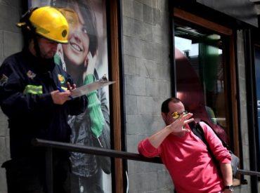 Simulacro de incendio en Servicio de Salud Chiloé generó gran expectación