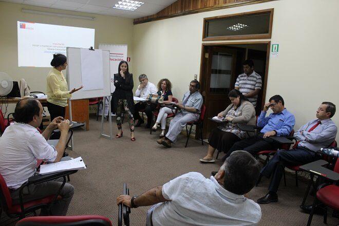 Funcionarios de la Superintendencia de Educación Los Ríos se capacitan para futura implementación de intendencia de educación parvularia