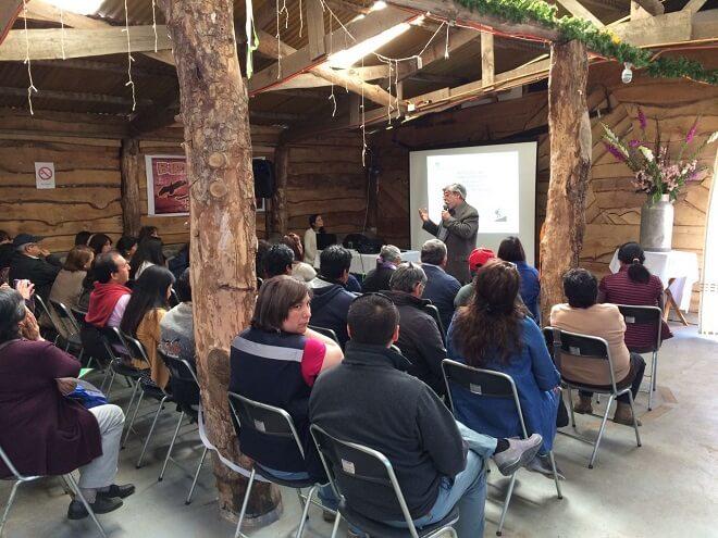 Emprendedores de INDAP se capacitaron en Turismo Rural