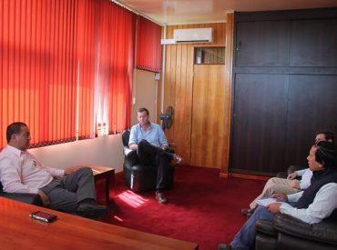 Alcalde de Los Lagos y Onemi analizan situación hídrica regional, que en Los Ríos presenta déficit de 40 %