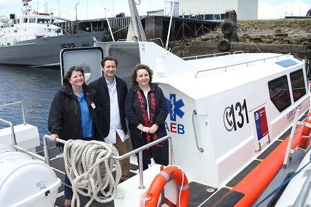 Ambulancias marítimas de Castro y Queilen alcanzan los 30 nudos de velocidad