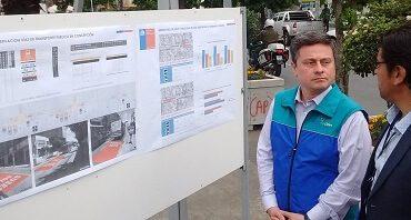 Concepción contará con 3,6 nuevos kilómetros de pistas solo bus