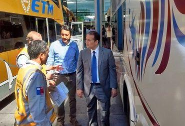 553 controles a buses se han realizado en la Región del Biobío por Campaña de Fiscalización de Fiestas Patrias